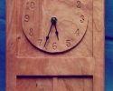 cherry-pendulum-wall-clock