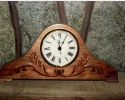 walnut-mantle-clock