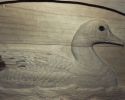 Goose Carving