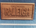 Sign for Raleigh Chamber
