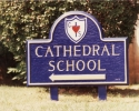 Church School Sign